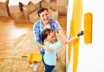 Vai renovar a casa? Saiba qual a melhor tinta para parede