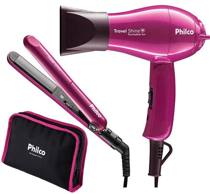 Kit Travel Shine Philco - cuidados portáteis para seu cabelo