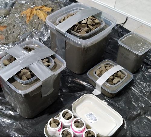 Processo de fabricação dos vasos de cimento