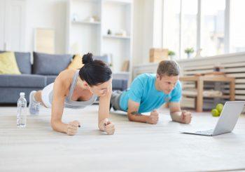 Dicas para treinar em casa