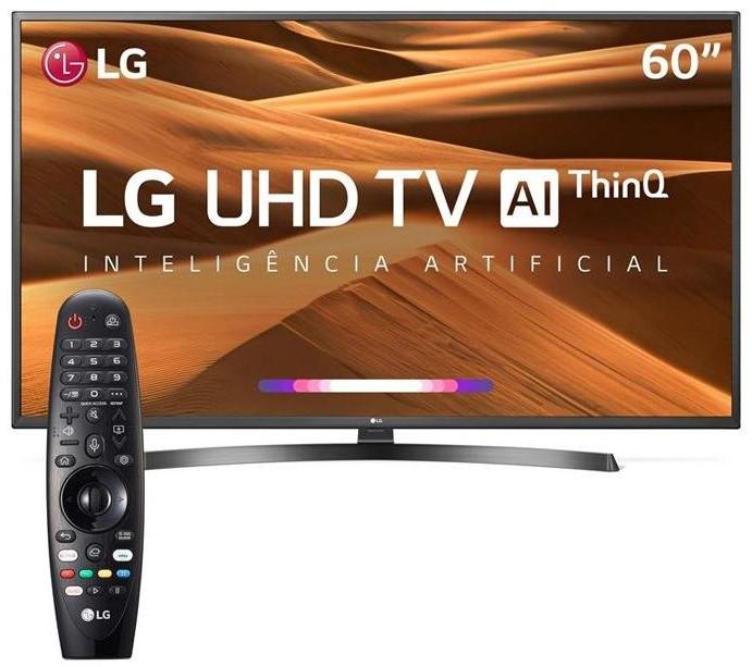 Smart TV 4K LED LG thinQ - internet das coisas