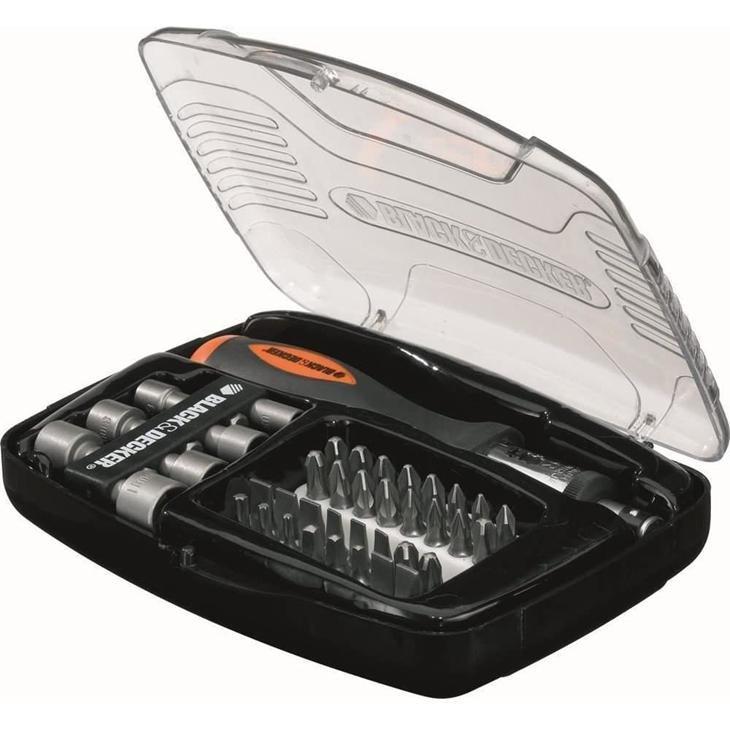 Se o seu amigo secreto tem vocação para consertar coisas, este kit de chaves para parafusar vai ser sucesso!
