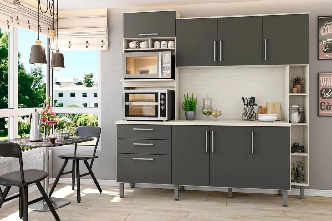Mesmo dispondo de pouco espaço, saiba como criar um ambiente prático e funcional para preparar suas refeições a partir de uma cozinha modulada