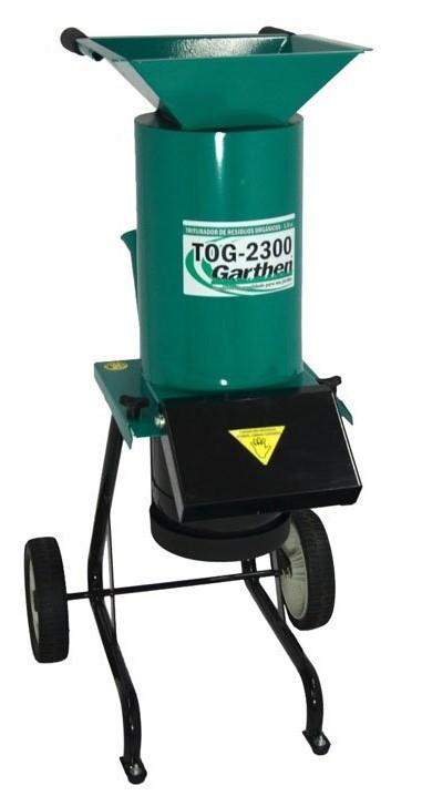 Triturador de resíduos Garthen