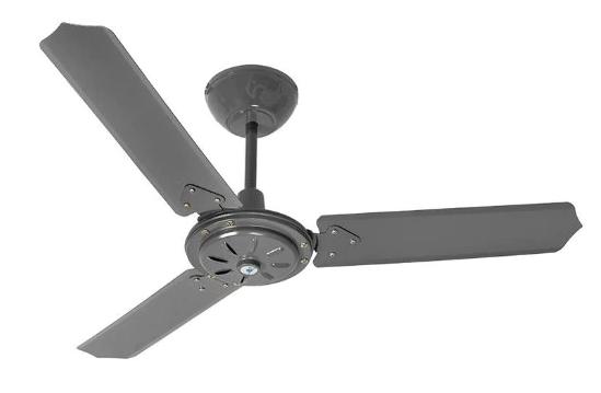 Ventilador de teto Tron com três pás é alternativa eficiente para fugir do calor neste verão