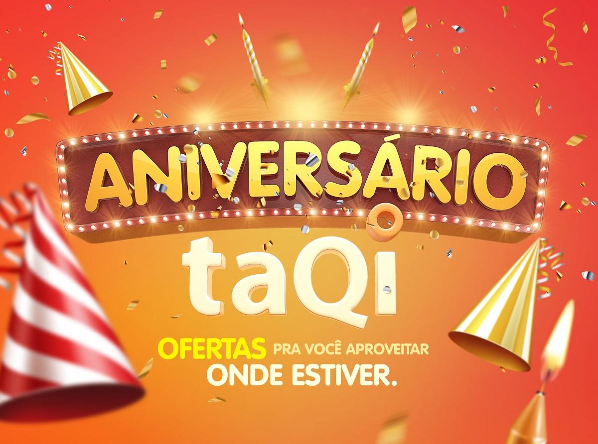 No mês de abril, a taQi comemora 62 anos de história com muito orgulho de fazer parte da sua vida! Afinal, você sabe: taQi, tá em casa!