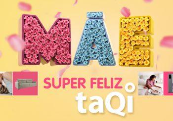 Independentemente de estilo e idade, conte com a taQi para acessar as melhores ofertas e não errar na escolha do presente de Dia das Mães